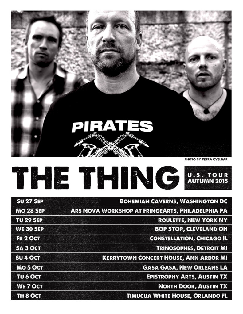 The Thing US tour2015